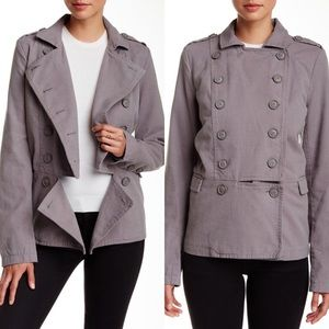Leith Cutaway Officer Peacoat Womens